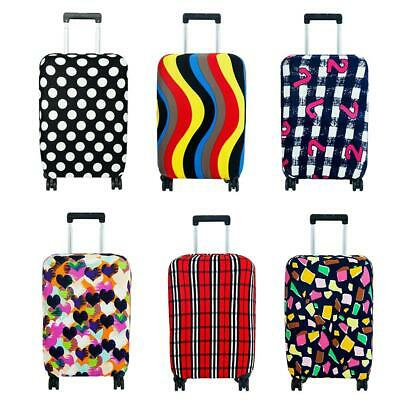 Elastic Printed Luggage Covers Trolley Travel Suitcase Dust Protective Bags WT7n