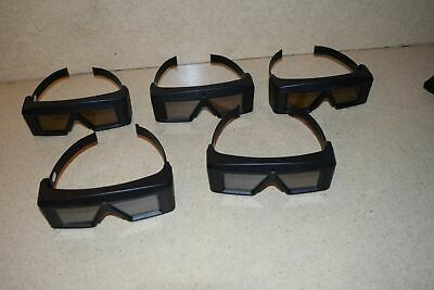 ^^ StereoGraphics CORP CRYSTAL EYES MODEL CE-3 GLASSES - LOT OF 5 (BB)
