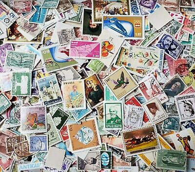 1000s DIFFERENT WORLDWIDE OLD/NEW Stamps Collection in Lot Pack of 50+ STAMPS