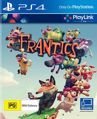 Frantics (PS4)  BRAND NEW AND SEALED - IN STOCK - QUICK DISPATCH - IMPORT