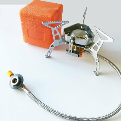 Outdoor Camping Stove Propane Refill Adapter LPG Flat Cylinder Coupler Gas Z7G0
