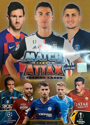 Topps - UEFA Champions League Match Attax 2019/20 -List of cards - Italy Edition