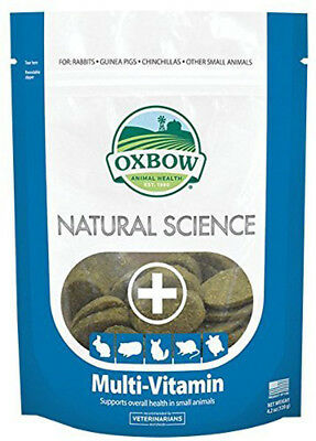 Oxbow - Naturel Science Multi-Vitamines Supplément - 60 Comprimés (120 G)