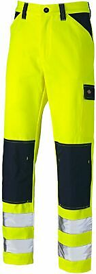 "CALPIA  Mens CT High Visibility Reflective Safety Work Jeans 34/"" x  32/"" New"