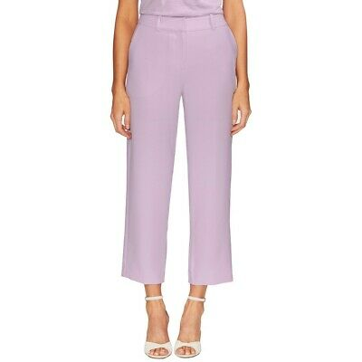 VINCE CAMUTO NEW Women's Parisian Crepe Trousers Capris, Cropped Pants TEDO