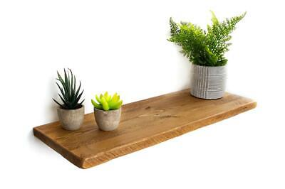 Rustic Floating Shelves | 22cm deep, 2.5cm thick Wooden Kitchen Shelf