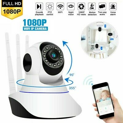 1080P Wireless Security Camera Indoor Home Smart Wifi Baby Monitor Day&Night CHY