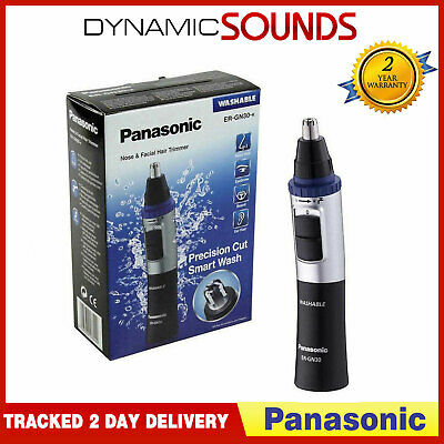 Panasonic ER-GN30-K Nose Facial and Ear Hair Eyebrows Trimmer Washable