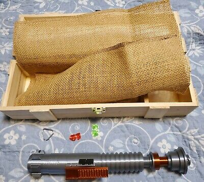 Luke Skywalker ROTJ lightsaber Kit - 3D Color Printed Prop Replica w/ box