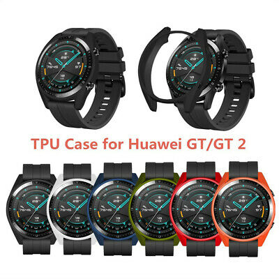 Funda Protectora Caja Caso Bumper Frame Case Cover Para Huawei-Watch GT2 46mm
