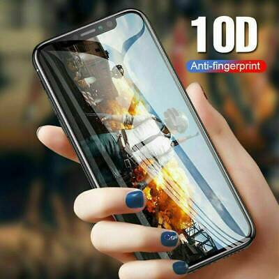 10D Curved Full Coverage Tempered Glass Screen Protector for iPhone 11 Pro Max ~
