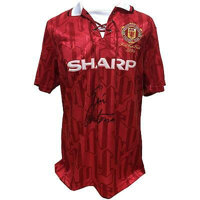 Eric Cantona Autographed Manchester United Signed Football Shirt