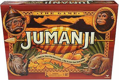 Games 6040889 Jumanji Classic Retro '90S Board Game, Fun Kids Family NEW