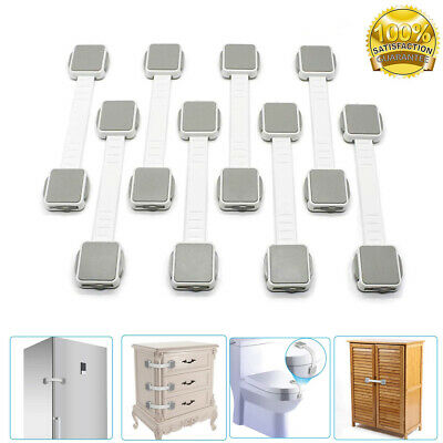 Child Baby Cupboard Cabinet Safety Locks Pets Proofing Door Drawer Fridge UK