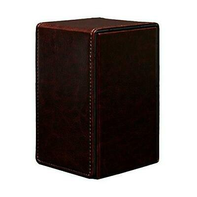 Ultra PRO 3 Sleeved Keyforge Decks Alcove Tower Deck Box w/ Secret Token Drawer