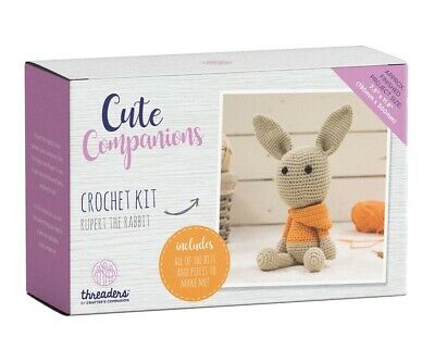Crafter's Companion Cute Companions - Rupert the Rabbit Crochet Kit Activity Toy
