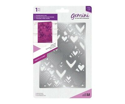 Crafter's Companion Gemini Die - Create a Card - Only Love Background