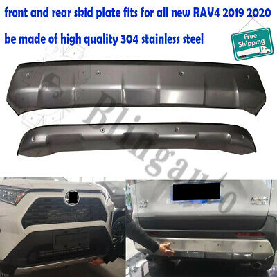 Fits for Toyota all new RAV4 2019 2020 front and rear skid plate bumper board