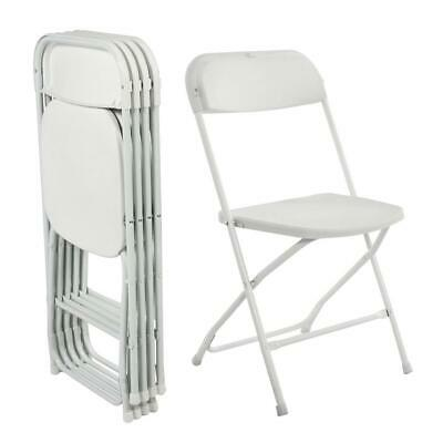 5-PACK Wedding Party Event Quality Commercial Plastic Stackable Folding Chair