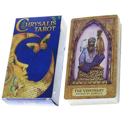 Chrysalis Tarot New Sealed 78 color cards Mythical archetypes Divination Tool