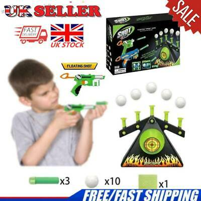 Electric Air Shot Ball Target Shooting Game Xmas Party Foam Darts Game UK
