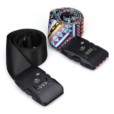 Superior Strength Anti-Theft  with TSA Combination Password Lock Luggage Strap