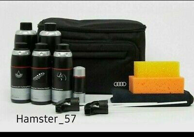 New GENUINE Audi car care cleaning kit with bag Audi A3 A4 A5 A6 A7 A8 gift idea