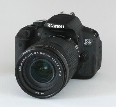 Canon EOS 650D Kit 18-105mm STM 1a Zustand OVP