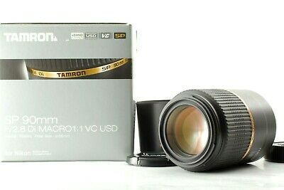 【Top MINT in BOX】Tamron SP90mm F2.8 Di Macro 1:1 VC USD for Nikon from JAPAN  43