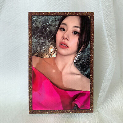 TWICE CHAEYOUNG Official Photocard 8th Mini album FEEL SPECIAL Photo Card S Kpop