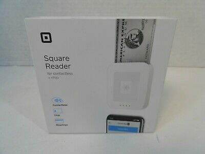 NEW SQUARE READER Credit Card Terminal Magstripe Chip Reader Contactless SKU0485