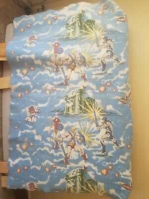 Vintage 1980's He-man Masters Of The Universe Blanket