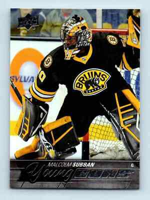 2015-16 Upper Deck Young Guns Malcolm Subban Rookie #211