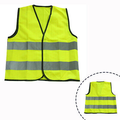 Reflective Safety Vest High Visibility Jacket Security Clothing for Kids