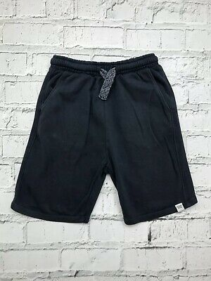 NEXT - Navy Blue Elasticated Waist Jersey Style Casual Shorts - Boys - 12 Years