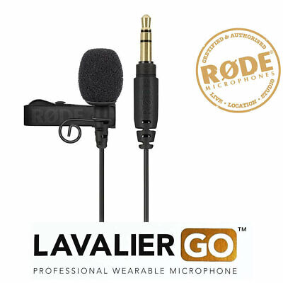 Rode Lavalier GO Professional Lapel wearable microphone LAVGO