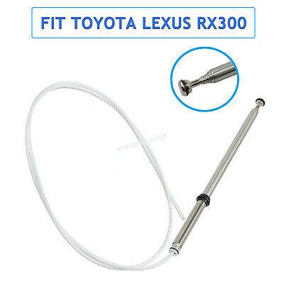 Areyourshop for Lexus RX300 Power Antenna MAST Stainless Replacement 1999-2003 86337-0W030