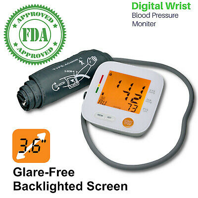 Automatic Digital Heart Beat Rate Pulse Meter & Upper Arm Blood Pressure Monitor