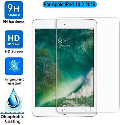Tempered GLASS Screen Protector for Apple iPad 7th Generation 2019 10.2 inch