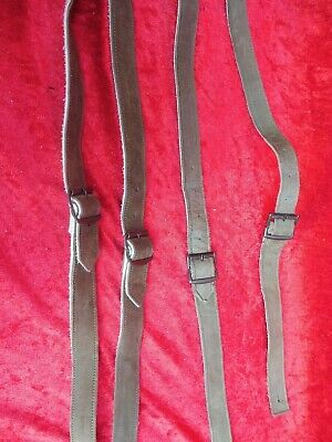 2 x Strap for Leather Trousers,Suspenders,100cm,New