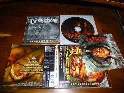 Destruction / Day Of Reckoning JAPAN+2 w/Card KICP-1532 T-A3
