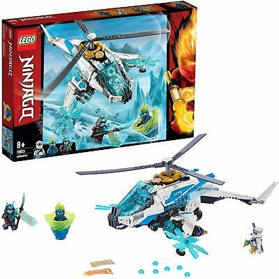 LEGO NINJAGO ShuriCopter Ninja Helicopter Toy with Minifigures Masters FOR KIDS