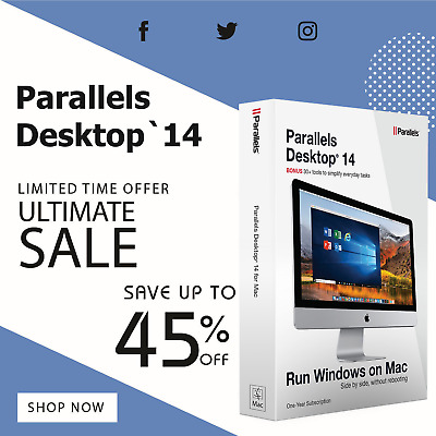Parallels Desktop 14 New business Edition + Windows 10 Pro Key Fast Delivery