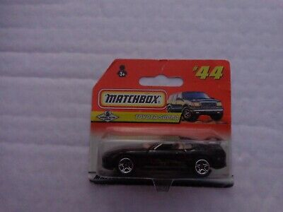 Vintage Matchbox #44 Toyota Supra Black Car Diecast Model Boxed