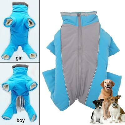 Winter Dog Coats Waterproof Reflective Clothes Pet Cat Puppy Warm Small Large US