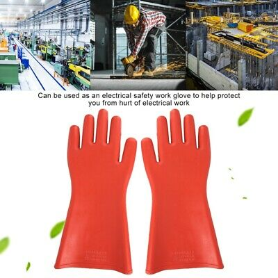 Insulated Gloves Rubber 12KV Safety Electrical Protective Work Gloves Protection