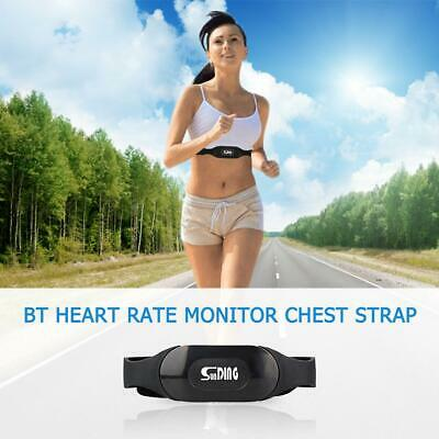 Bluetooth Heart Rate Monitor Chest Strap Fitness Equipment for iOS Android WT7n
