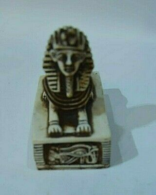 Statue Sphinx  Egyptian Figurine Ancient Antique Egypt Pyramid Stone Pharaoh EGY