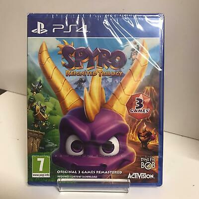 Spyro Reignited Trilogy PS4 Game All 3 original games on one disc - New & Sealed