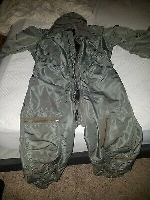 1958 Army Coverall Winter Flight Suit Sandler Bros Size Large Nice Condition